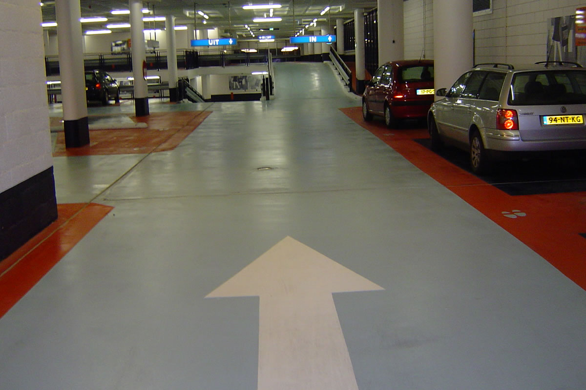 parkeergarages totaalreiniging Jadon